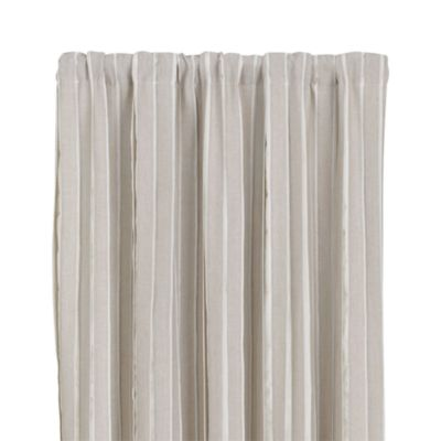 Kendal Natural 50x96 Curtain Panel