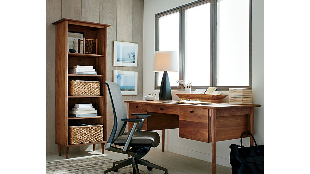 Kendall Walnut Bookcase