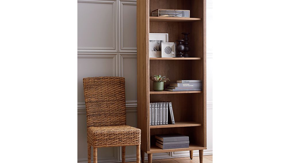 Kendall Walnut Bookcase