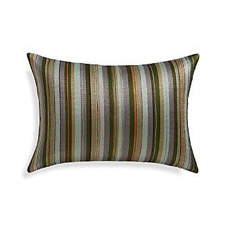"Kendrick 18""x12"" Pillow with Feather-Down Insert"