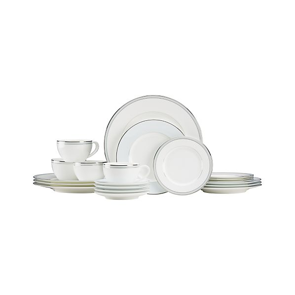 Kensington Blue 20-Piece Dinnerware Set