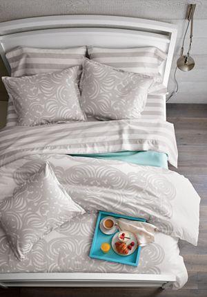 Marimekko Kesahelle Grey Extra-Long Twin Sheet Set