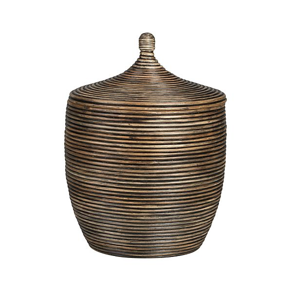 Kez Large Lidded Basket