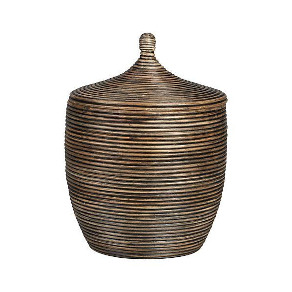Kez Large Lidded Basket