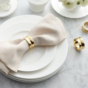 Kingston Gold Napkin Ring