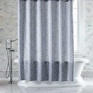 Marimekko Kioto Royal Blue Shower Curtain