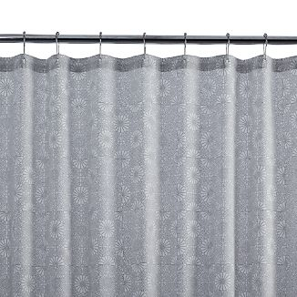 Marimekko Kioto Light Grey Shower Curtain