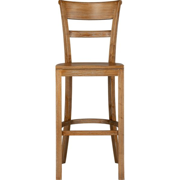 "Kipling Grey Wash 30"" Barstool"