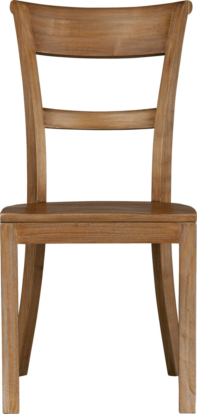 Graceful lines with the beauty and integrity of richly grained solid tropical sungkai wood<br />sit well at our Kipling table. Chair back has a deep, comfortable curve and is gently scrolled. A soft-sheen lacquer adds a finishing detail.<br /><br /><NEWTAG/><ul><li>Solid tropical sungkai wood</li><li>Grey wash, clear protective lacquer finish</li><li>Contoured seat</li><li>Made in Indonesia</li></ul>