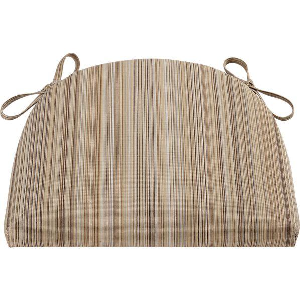 Kipling-Vintner Latte Stripe Cushion