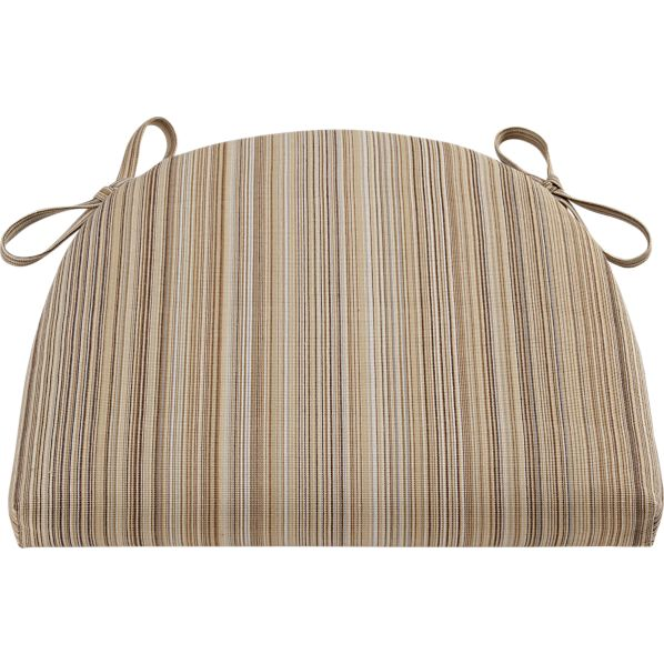 Kipling-Vintner Latte Stripe Cushion