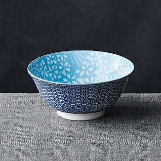 "Kiso Light Blue 6"" Rice Bowl"