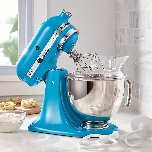 Kitchenaid 174 Artisan Crystal Blue Stand Mixer Crate And