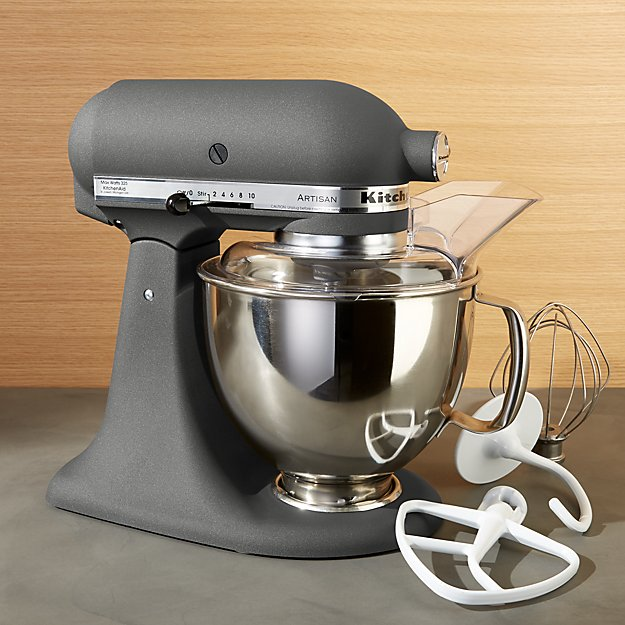 Kitchenaid 174 Artisan Imperial Grey Stand Mixer Crate And