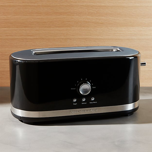 Kitchenaid 174 Onyx Black 4 Slice Long Slot Toaster Crate