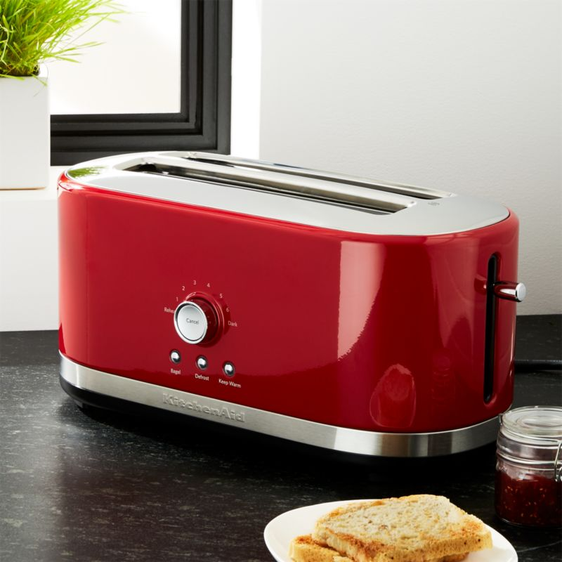 KitchenAid ® 4-Slice Long Slot Toaster Red