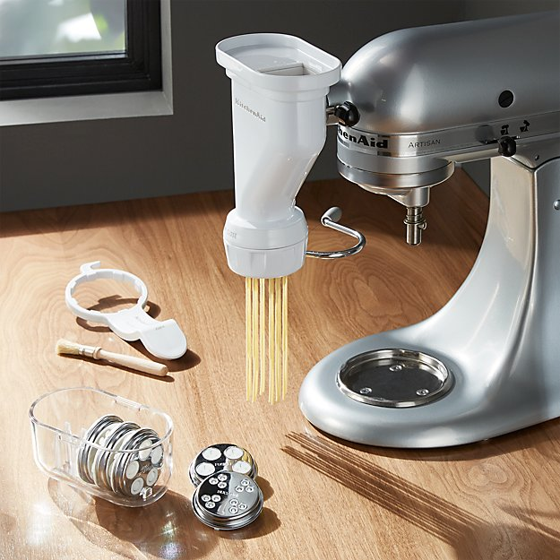 KitchenAid ® Stand Mixer Pasta Press Attachment.