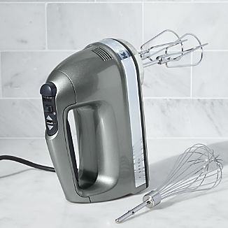 KitchenAid ® Silver 7-Speed Hand Mixer