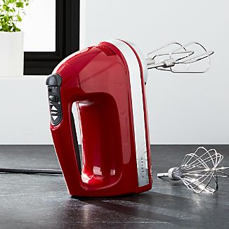 KitchenAid ® Empire Red 7-Speed Hand Mixer