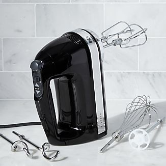 KitchenAid ® Onyx Black 9-Speed Hand Mixer