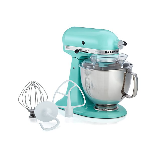 Kitchenaid 174 Ice Blue Stand Mixer Crate And Barrel
