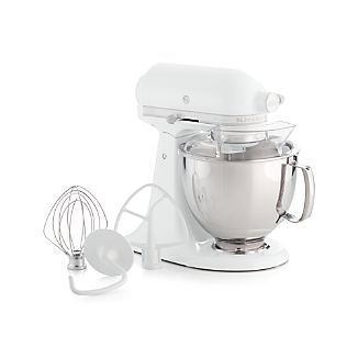 KitchenAid ® Artisan White On White Stand Mixer