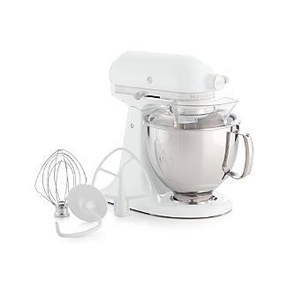 KitchenAid ® Artisan White On White Stand Mixer