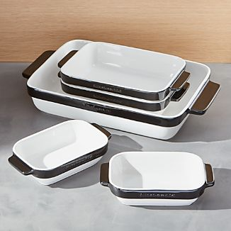 KitchenAid ® 5-Piece Black Ceramic Baking Dish Set