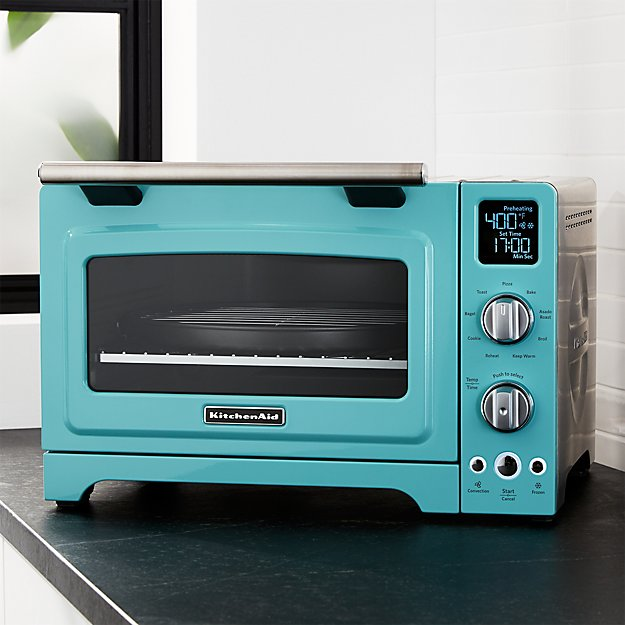 KitchenAid ® Aqua Sky Blue Digital Convection Oven
