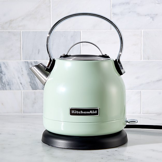 Kitchenaid 174 Pistachio Electric Kettle Crate And Barrel