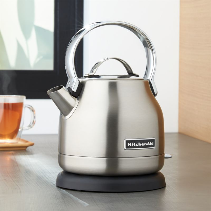 KitchenAid ® Silver Electric Kettle