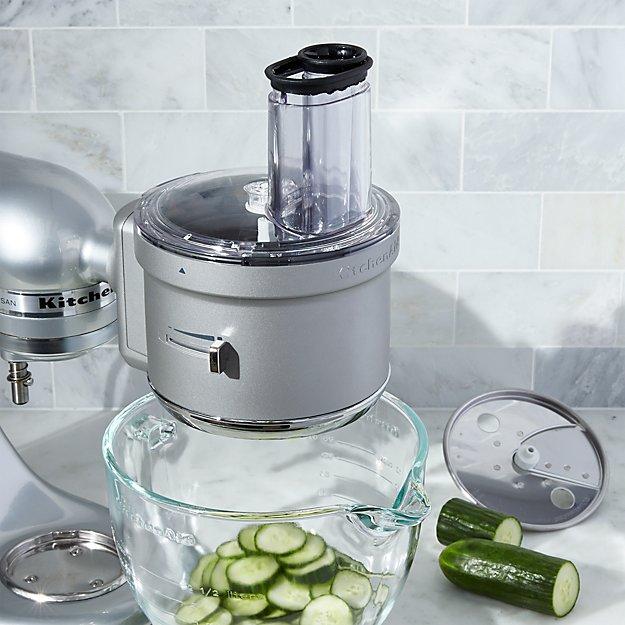 Food Processor Kitchen ~ Kitchenaid food processor attachment crate and barrel