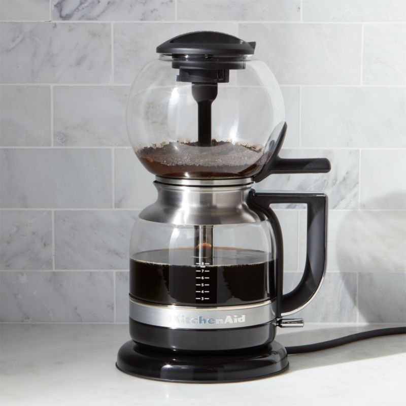 Vacuum Coffee Maker Instructions : KitchenAid Siphon Vacuum Coffee Maker Crate and Barrel