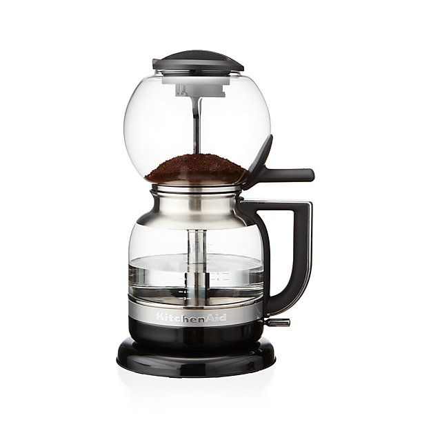 Vacuum Coffee Maker ~ Kitchenaid siphon vacuum coffee maker crate and barrel