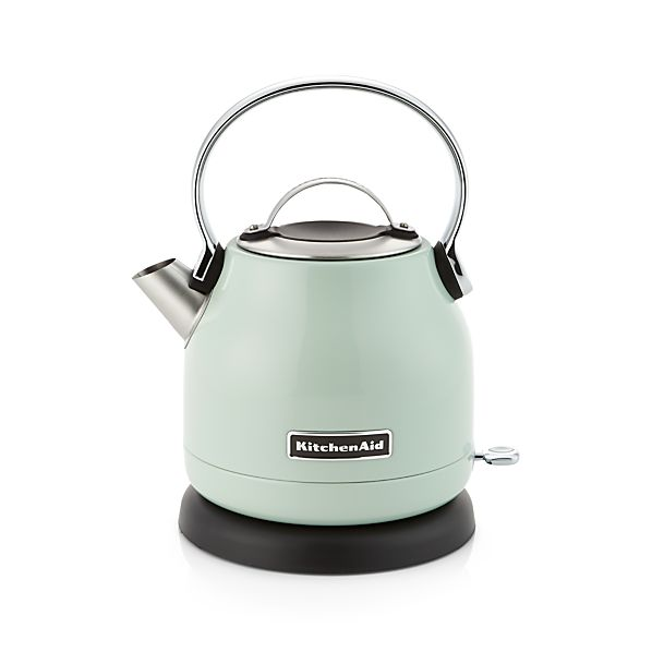 Kitchenaid 174 Pistachio Electric Kettle In Teapots