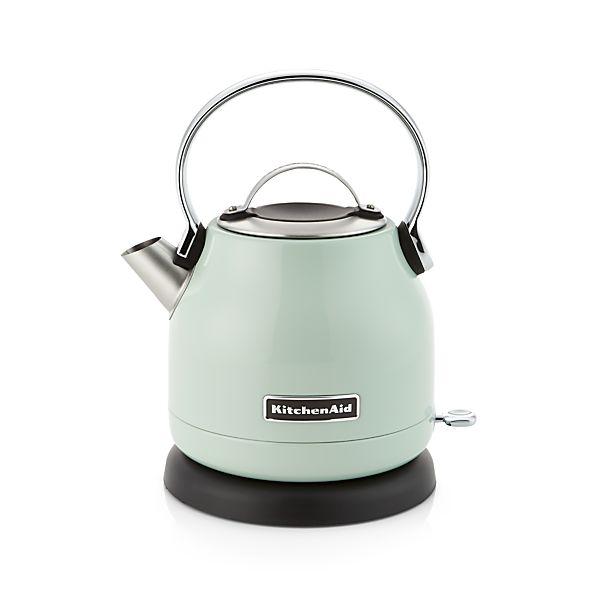 KitchenAid 174 Pistachio Electric Kettle : kitchenaid pistachio electric kettle from crateandbarrel.com size 598 x 598 jpeg 17kB