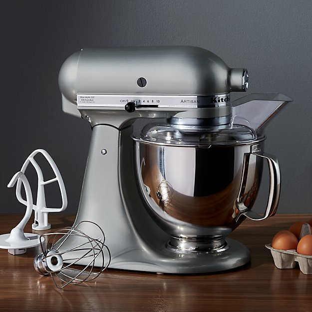 Kitchenaid Ksm150psmc Artisan Stand Mixer Crate And Barrel