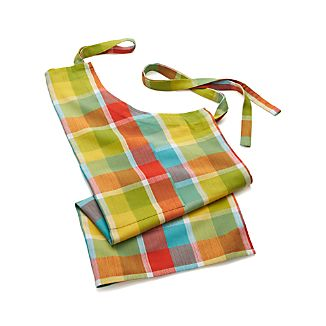 Kitchen Plaid Apron