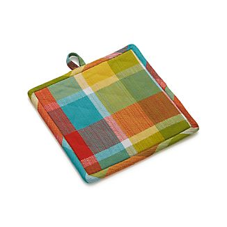 Kitchen Plaid Pot Holder