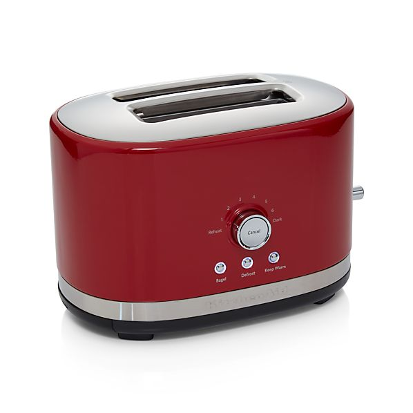 Kitchenaid Red 2 Slice Toaster In Toasters Amp Toaster Ovens