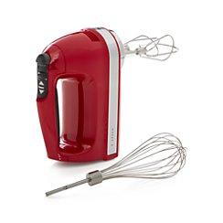 KitchenAid ® Red 9-Speed Hand Mixer