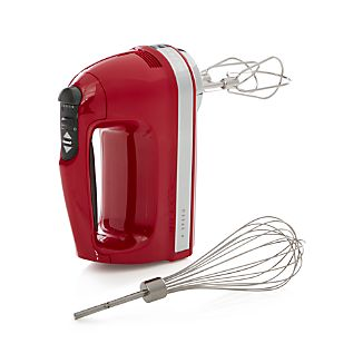 KitchenAid ® Red 9-Speed Hand Mixer