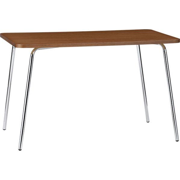 Kitchenette Walnut Rectangular Table