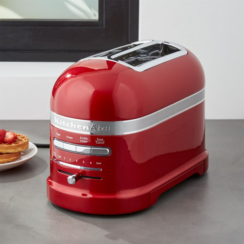 KitchenAid ® Pro Line Candy Apple Red 2-Slice Automatic Toaster