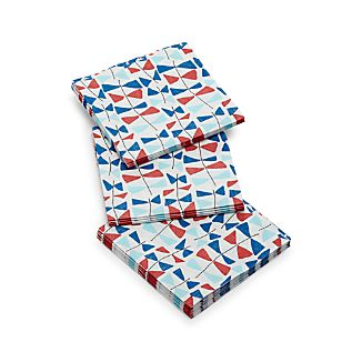 Set of 20 Kite Tails Paper Beverage Napkins.