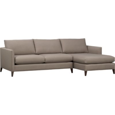 Klyne 2-Piece Sectional (Right Arm Chaise, Left Arm Apartment Sofa)