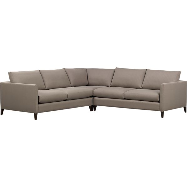 Klyne 3-Piece Sectional (Left Arm Apartment Sofa, Corner, Right Arm Apartment Sofa)