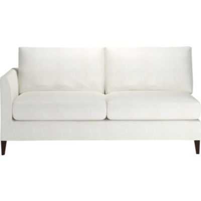 Klyne Slipcovered Sectional Left Arm Apartment Sofa