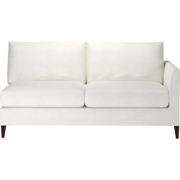 Klyne Slipcovered Right Arm Apartment Sofa