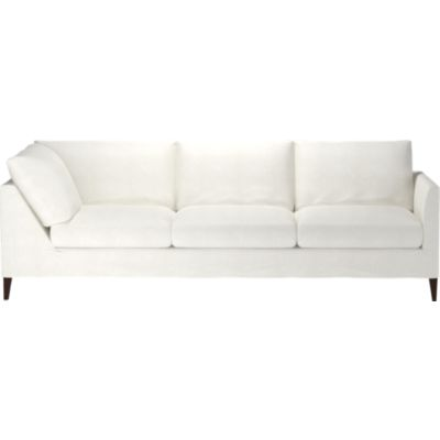 Klyne Slipcovered Right Arm Corner Sofa